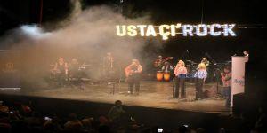 Usta Çı'rock konseri büyüledi
