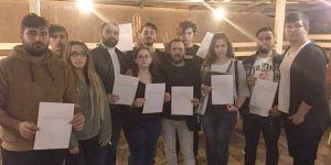 CHP Darıca'da 12 yönetici istifa etti !