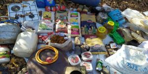 Muş'ta teröristlerin kış üslenmesi için kullandığı 12 sığınak imha edildi