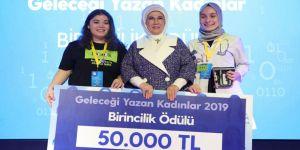 Emine Erdoğan: Bizi dünyada kadın ruhunun daha etkin olacağı bir gelecek bekliyor