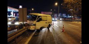 Gebze'de trafik kazası: 1 yaralı
