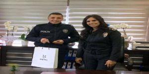 Darıcada Çocuğu kurtaran polis çeyrek altınla ödüllendirildi