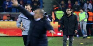 Trabzonspor Teknik Direktörü Karaman: Son dakikada yediğimiz gol bizi üzdü