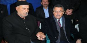 Cumhurbaşkanı Yardımcısı Oktay'dan şehit ailesine taziye ziyareti