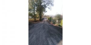 Köy yolları modernleşiyor