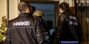 Ankara'da kasımda yapılan uyuşturucu operasyonlarında 1159 kişi gözaltına alındı
