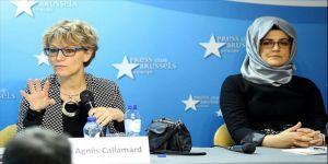 BM Özel Raportörü Callamard: Kaşıkçı cinayeti konusunda uluslararası toplumu kınıyorum