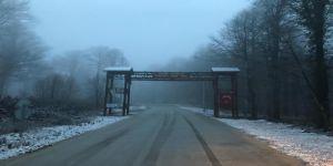 Kocaeli'de bir ilçeye daha yılın ilk karı yağdı !