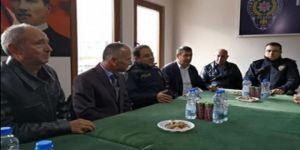 Gebze Emniyet Müdürü Bilgili'den,Polis Emeklilerine Ziyaret