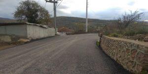 Köy yolları konforlu hale geliyor