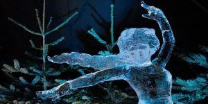 Hollanda'da 'Buzdan Heykeller' festivali başladı