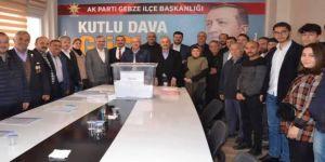 Ak Parti'de ilçe delege seçimleri tamamlandı