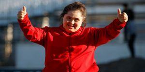 Özel sporcu Beyza dünya şampiyon olup Cumhurbaşkanı Erdoğan ile tanışmak istiyor