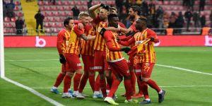 Süper Lig'de haftanın kapanış maçını Kayserispor kazandı
