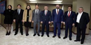 Büyükakın, Kişinev Belediye Başkanını ağırladı