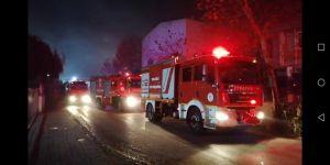 GebzeBarış Mahallesi'nde fabrika yangını !