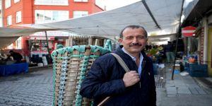 İstanbul pazarlarının 'ekspres' küfecisi