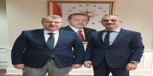 Başkan Çiftçi'den Ankara'da bir dizi ziyaret