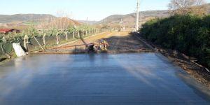 Karamürsel'de köy yolları modern ve güvenli