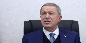 Milli Savunma Bakanı Akar: Uluslararası hukuktan kaynaklanan hakkımızı koruyoruz