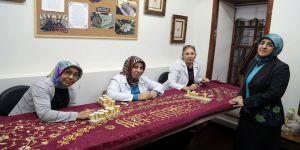 Kösem Sultan'ın puşidesi Kahramanmaraş'ta işleniyor