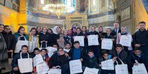Çocuklar müze ile keşfetmeye Ayasofya'dan başladı