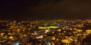 Bitlis Kalesi'ni ışıklandırma çalışması tamamlandı