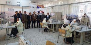 TİKA'dan Libya'da kız meslek enstitüsüne teknik ekipman desteği