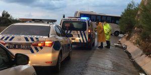 Antalya'da trafik kazası: 17 yaralı