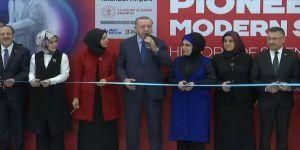 Cumhurbaşkanı Erdoğan, sergi açılışına katıldı