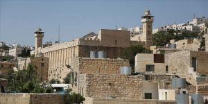 Yahudi yerleşimcilerden Harem-i İbrahim Camisi'nde provokatif ayin