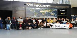 """Geleceğin mühendis adayları """"Deprem Müzesi'ni ziyaret etti"""