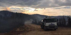 Trabzon'daki örtü yangınlarından 30'u söndürüldü