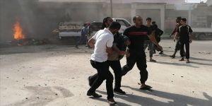 Cerablus'ta eş zamanlı terör saldırıları: 10 yaralı