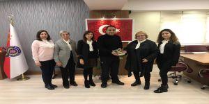 Add Gebze Şube Kadın Komisyonu ,Bilgili'ye hayırlı olsun ziyaretinde bulundular
