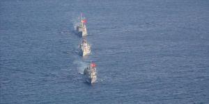 Doğu Akdeniz'de İtalya Deniz Kuvvetleri ile ortak deniz eğitimi