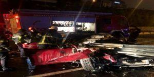Gebze'de feci kaza ! Bir kişi hayatını kaybetti