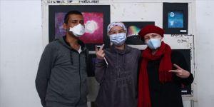 Hematoloji hastaları 'ÇABA'larını resimle buluşturdu
