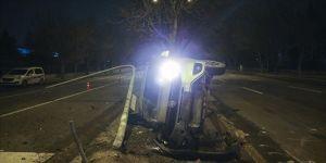 Başkentte trafik kazaları: 1 ölü, 1 yaralı