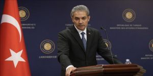 Dışişleri Bakanlığı Sözcüsü Aksoy'dan Eastmed projesi anlaşmasına tepki