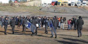 Gebze'de,sekiz kamyoncu gözaltına alındı
