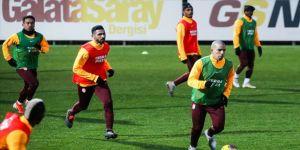 Galatasaray ikinci yarı hazırlıklarını sürdürdü