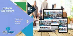 Hazır web sitesi alanında kurumsal hizmetler YETİŞ YAZILIM
