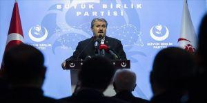 BBP Genel Başkanı Destici: Irak'ı Iraklılar yönetsin