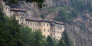 Sümela Manastırı'ndaki çalışmaları komisyon takip edecek