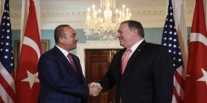 Dışişleri Bakanı Çavuşoğlu ABD'li mevkidaşı Pompeo ile telefonda görüştü