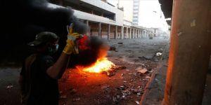 Kerbela'da protestocular Bedir Tugayları Merkezi'ni yaktı