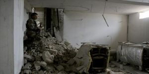 YPG/PKK 12 kilometrelik tünele konteynır oda yapmış