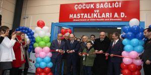İÜC-Cerrahpaşa Tıp Fakültesi Çocuk Sağlığı ve Hastalıkları Kliniği açıldı