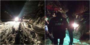 Karabük'te olumsuz hava koşulları nedeniyle mahsur kalan 8 kişi kurtarıldı